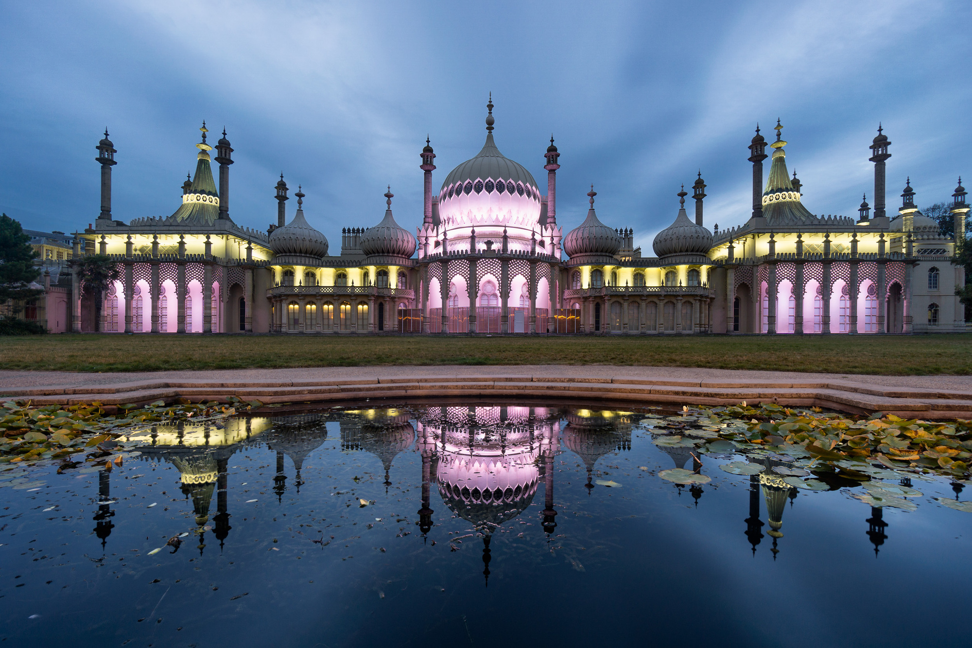 Royal Pavilion, Brighton night